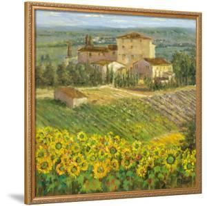 Provencal Village III by Michael Longo