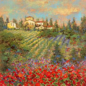 Provencal Village XII by Michael Longo
