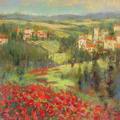 Provencal Village XIII by Michael Longo
