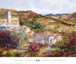 Tuscan Summer by Michael Longo