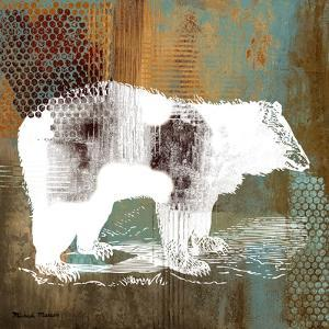 Bear on Abstract by Michael Marcon