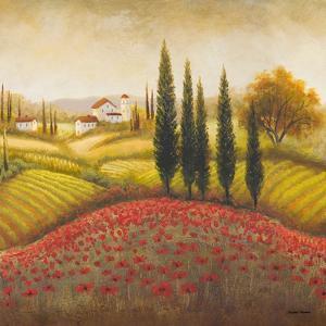 Flourishing Vineyard Square II by Michael Marcon