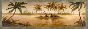 Golden Tropics I by Michael Marcon