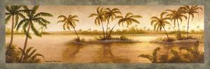 Golden Tropics II by Michael Marcon