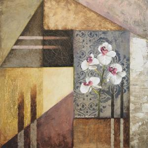Orchids and Shapes I by Michael Marcon