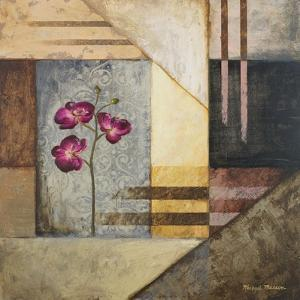 Orchids and Shapes II by Michael Marcon