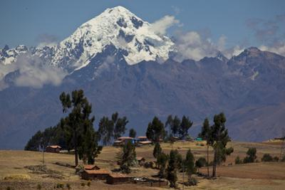 A View in Urubamba Valley, or Sacred Valley and the Andes Mountains by Michael Melford