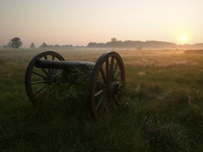Cannon at the Gettysburg Battlefield by Michael Melford