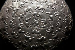 Close Up of an Object at the Larco Herrera Museum in Lima by Michael Melford