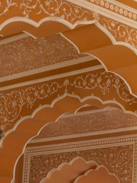 Details of the Intricate Architecture of City Palace in Jaipur by Michael Melford