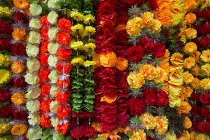 Flower Garlands for Sale by Michael Melford