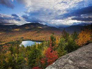 Heart Lake and Algonquin and Wright Peaks by Michael Melford