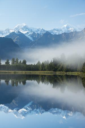 Lake Matheson in Westland National Park by Michael Melford