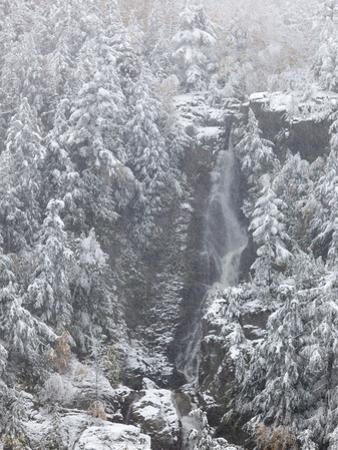 Roaring Brook Waterfall in Keene Valley by Michael Melford