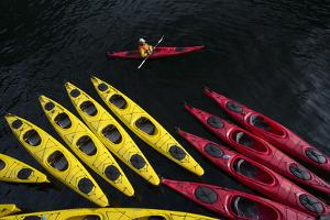 Sea Kayaking in the Inside Passage by Michael Melford