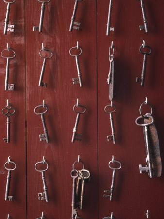 Shaker Keys by Michael Melford