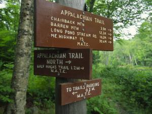 Signs Along the Appalachian Trail by Michael Melford