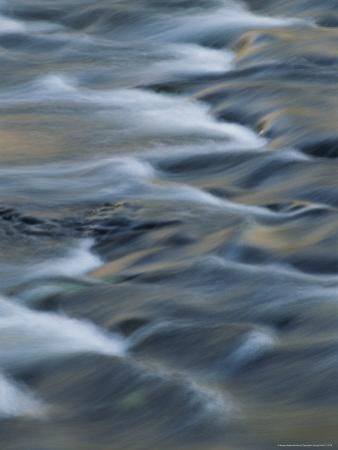 Time Lapse Photograph of Rushing Water by Michael Melford