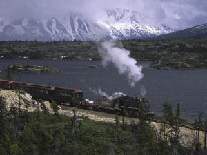 White Pass and Yukon Route Narrow Gauge Railroad by Michael Melford