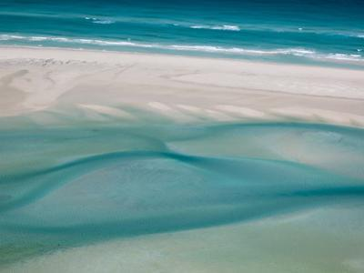 White Sand Beaches Stretch for Miles at Detwah Lagoon by Michael Melford