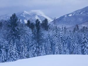 Winter Snow in the High Peaks Region of Adirondack Park by Michael Melford