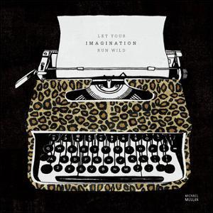 Analog Jungle Typewriter by Michael Mullan