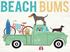 Beach Bums Truck I by Michael Mullan
