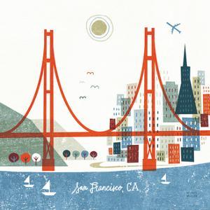 Colorful San Francisco by Michael Mullan