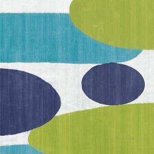 Costa Del Sol I Blue Green by Michael Mullan