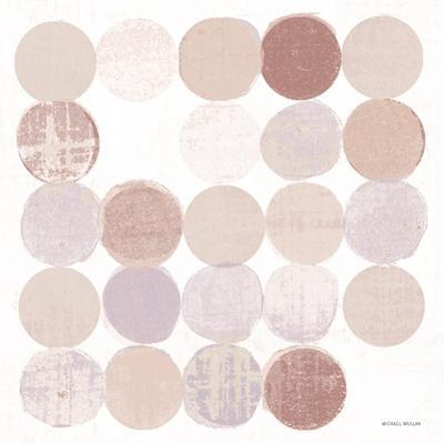 Dots II Square II Blush by Michael Mullan