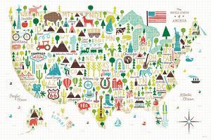 Illustrated USA by Michael Mullan
