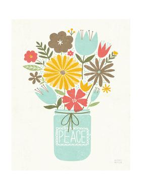 Jar of Sunshine II Coral Peace by Michael Mullan
