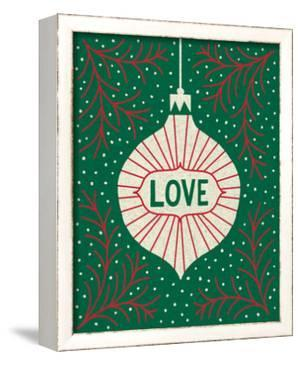 Jolly Holiday Ornaments Love by Michael Mullan