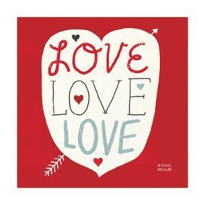 Love Love Love Square by Michael Mullan