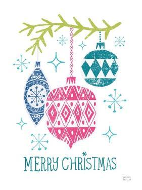 Merry Christmastime Ornament Bright by Michael Mullan