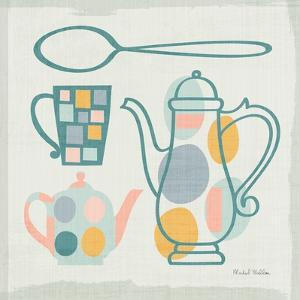 Modern Kitchen Sq IV Pastel by Michael Mullan