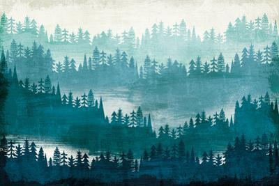 Mountainscape Blue by Michael Mullan