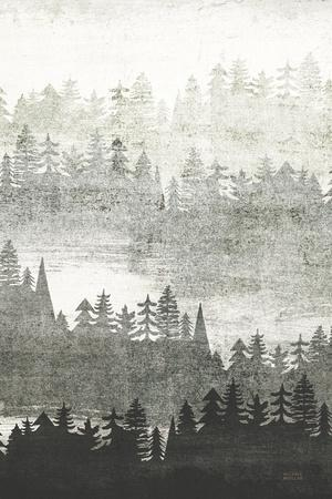 Mountainscape Silver Panel II
