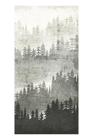 Mountainscape Silver Panel III