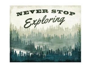 Never Stop Exploring by Michael Mullan