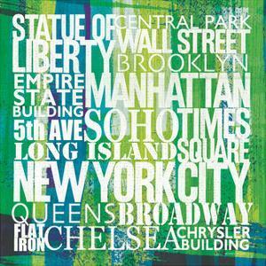 New York City Life Patterns I by Michael Mullan