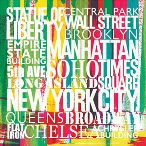 New York City Life Patterns VII by Michael Mullan
