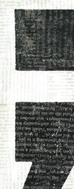 Punctuated Black VI by Michael Mullan