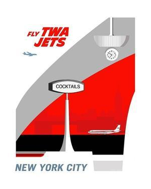 Fly TWA Jets by Michael Murphy