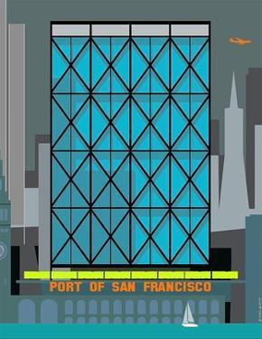 Port of San Francisco by Michael Murphy