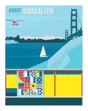 Visit Sausalito by Michael Murphy