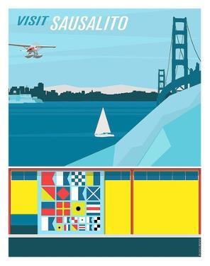 Visit Sausalito by Michael Murphy