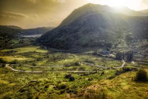 Welsh Valley by Michael Murphy