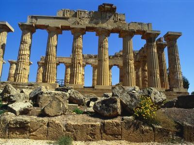 Ancient Greek Temple, Selinunte, Sicily