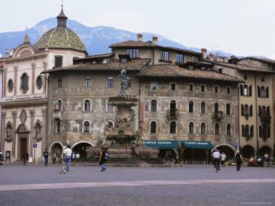 Case Cazuffi-Rella, in Piazza Duomo, Trento, Trentino, Italy